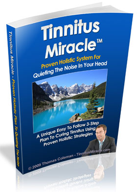 Ear Ringing Cure Book - Tinnitus Miracle