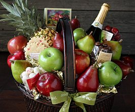 Grand Holiday Food Basket Gift